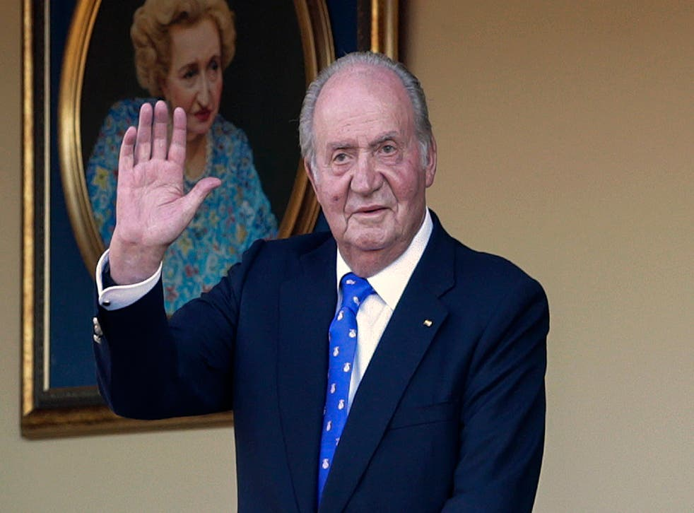 Spain Ex-King
