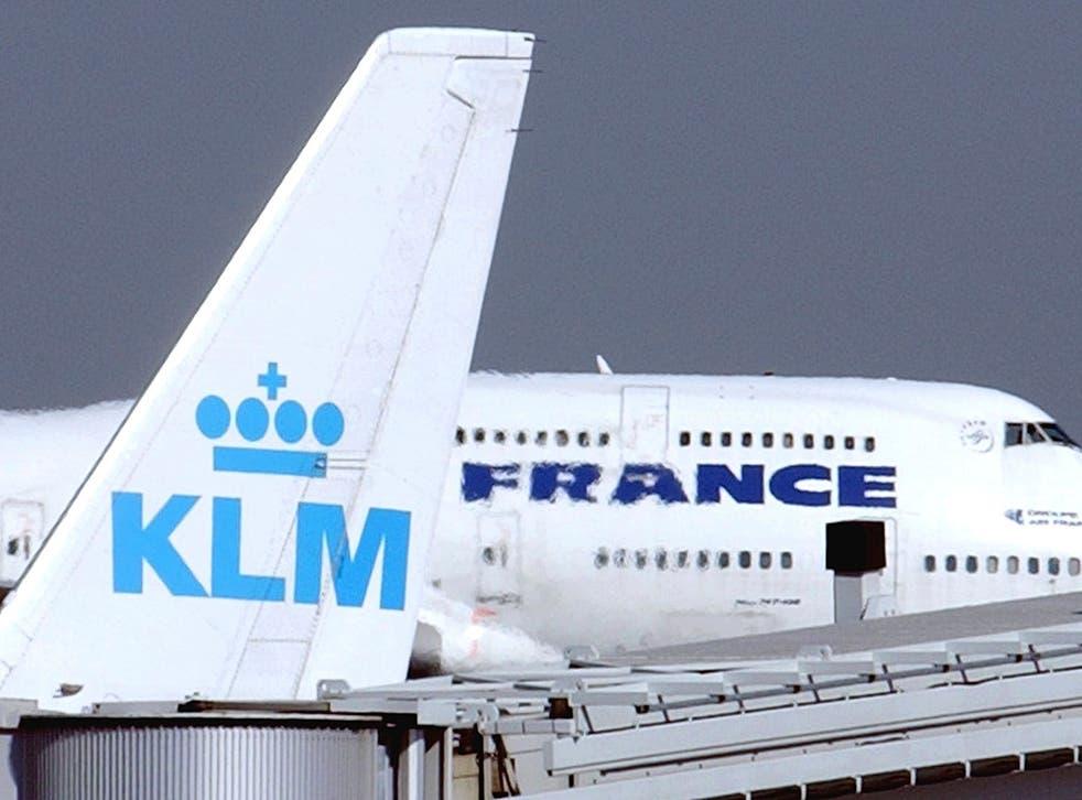 Virus Outbreak Netherlands KLM