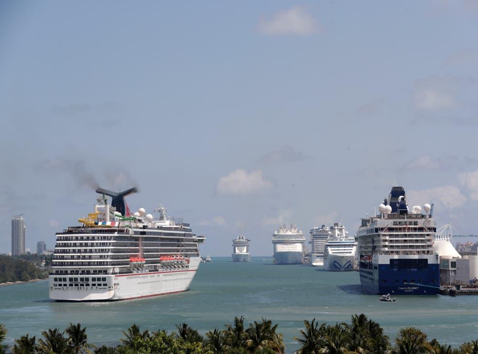 Cruise Ships-No Sail
