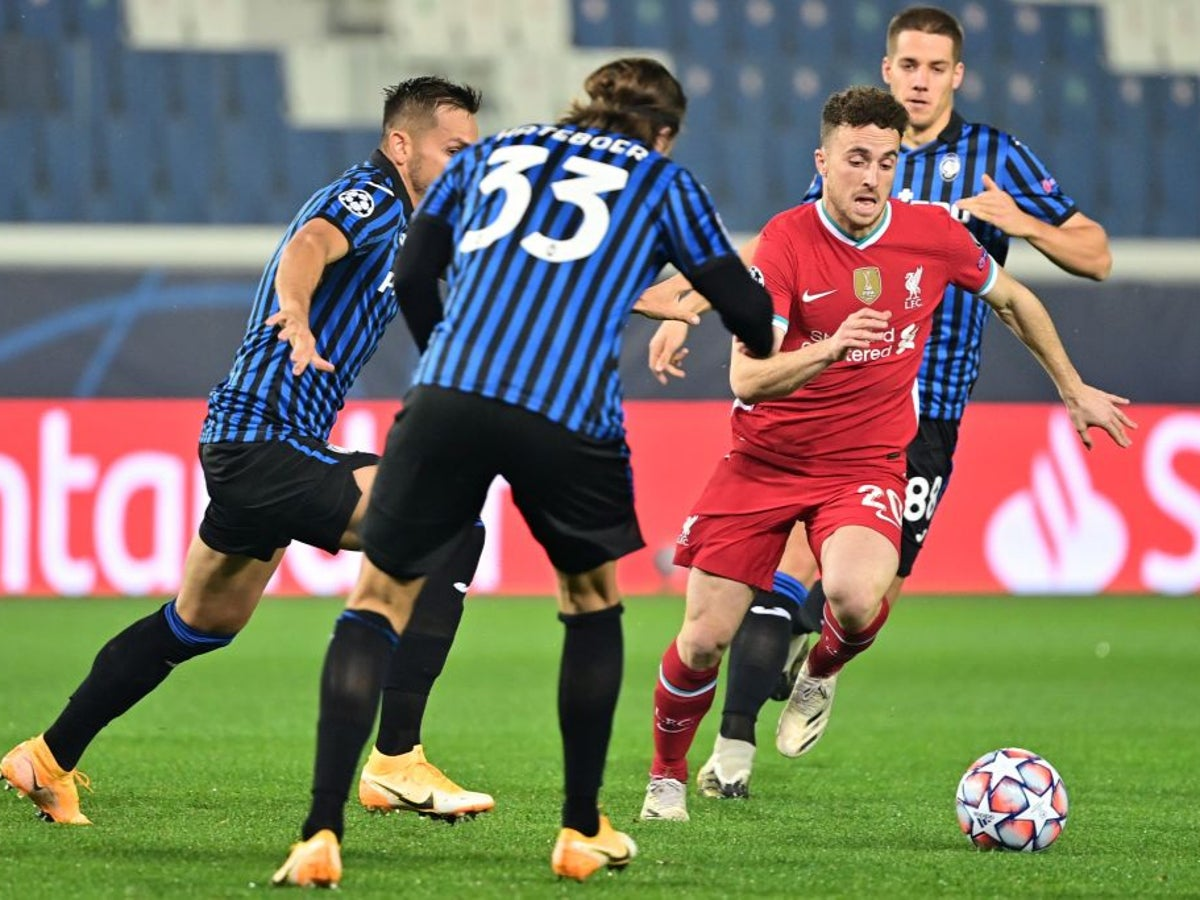 The Best Diogo Jota Liverpool Vs Atalanta