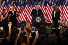 Trump afirma que ganó y exige a la Corte que deje de contar votos
