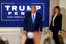 Trump celebra victoria con los resultados finales aún pendientes