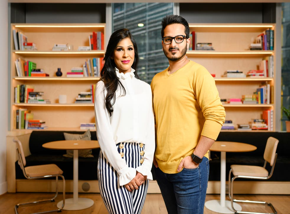 <p>Partners Jami and Faiza Saiful are fighting a growing wasteland of ambition</p>