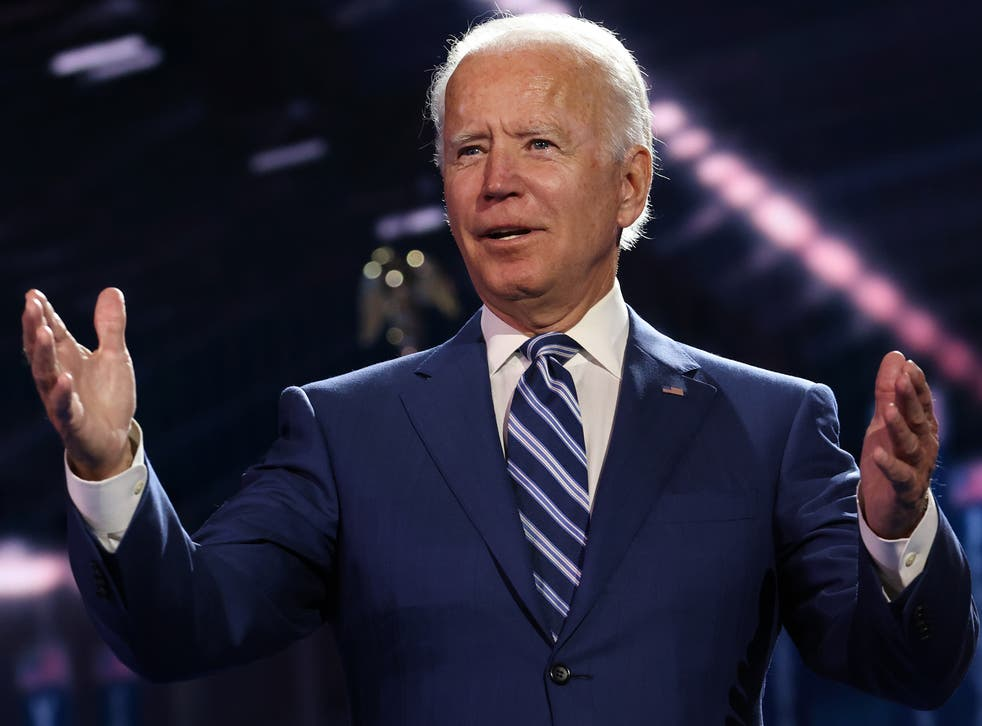 <p>Biden is holding on to a narrow lead</p>