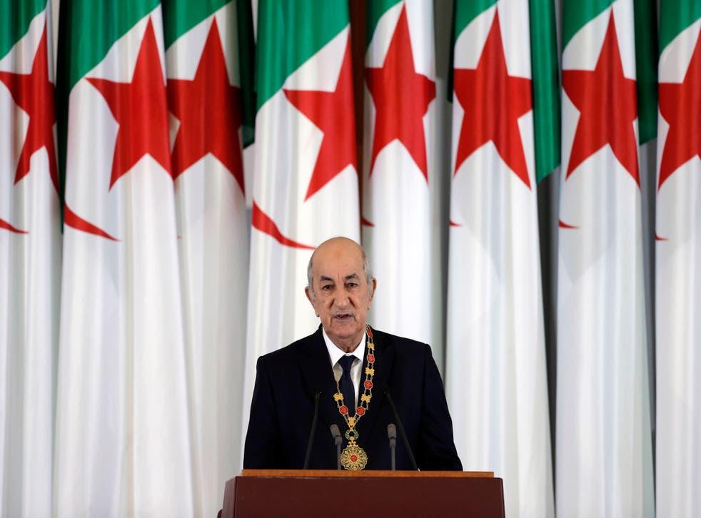 Algeria Sick President