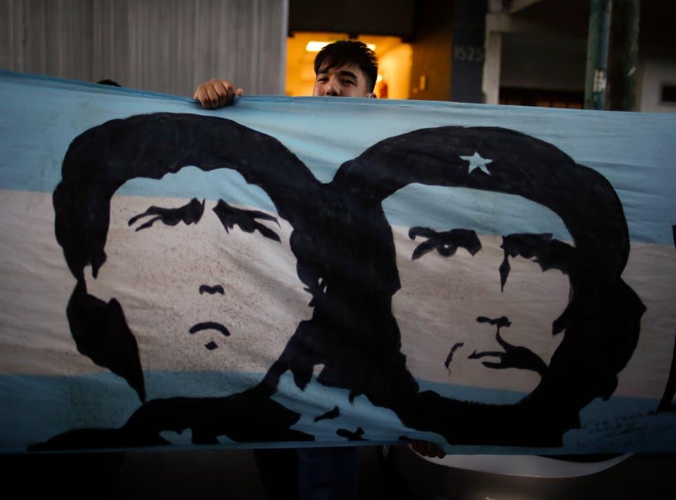 Argentina Maradona Surgery