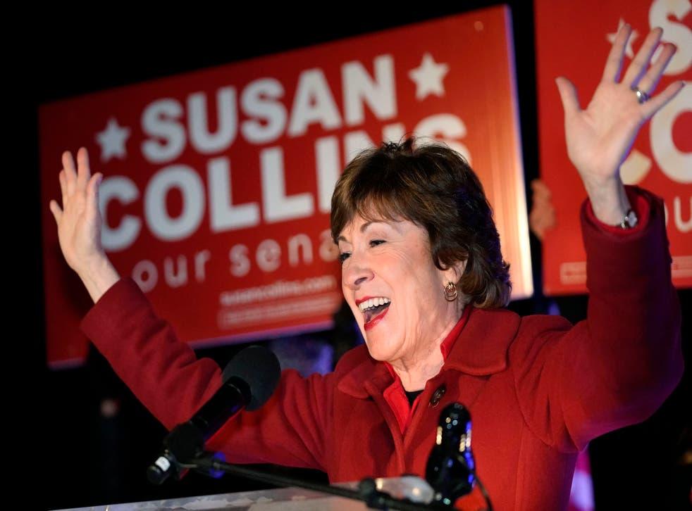 APTOPIX Election 2020 Senate Collins