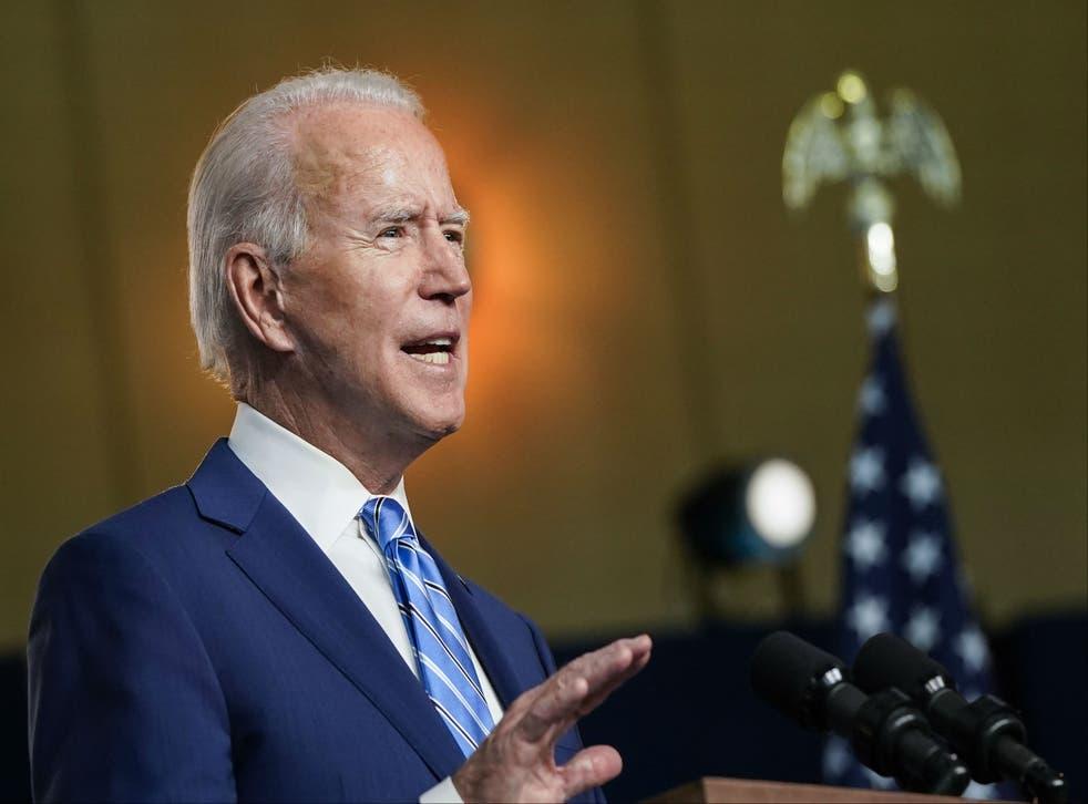 <p>Esta es la tercera apuesta de Joe Biden para convertirse en presidente.</p>