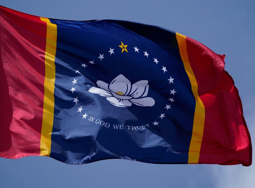 Election 2020 Mississippi Flag