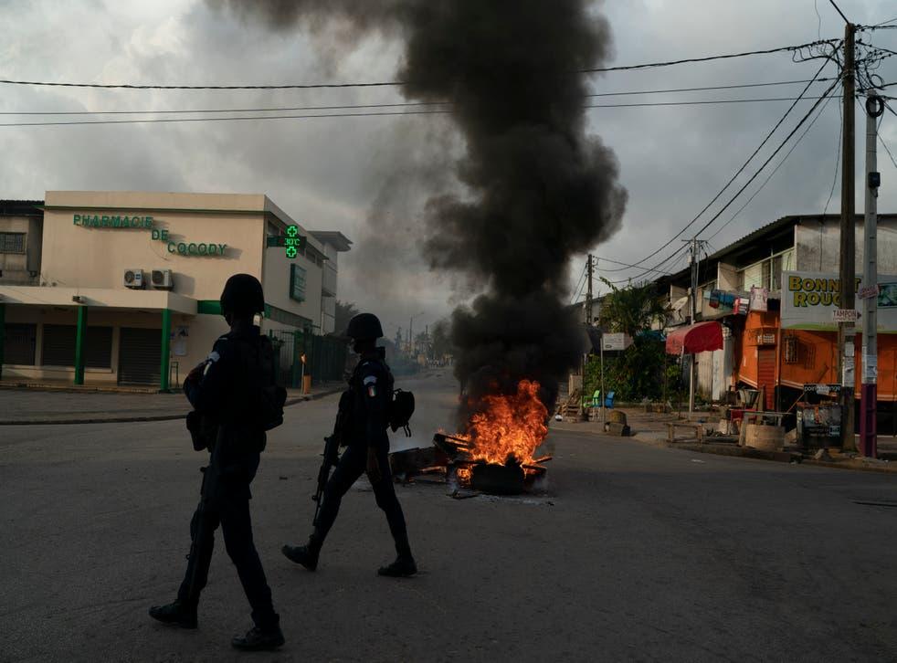 APTOPIX Ivory Coast Elections