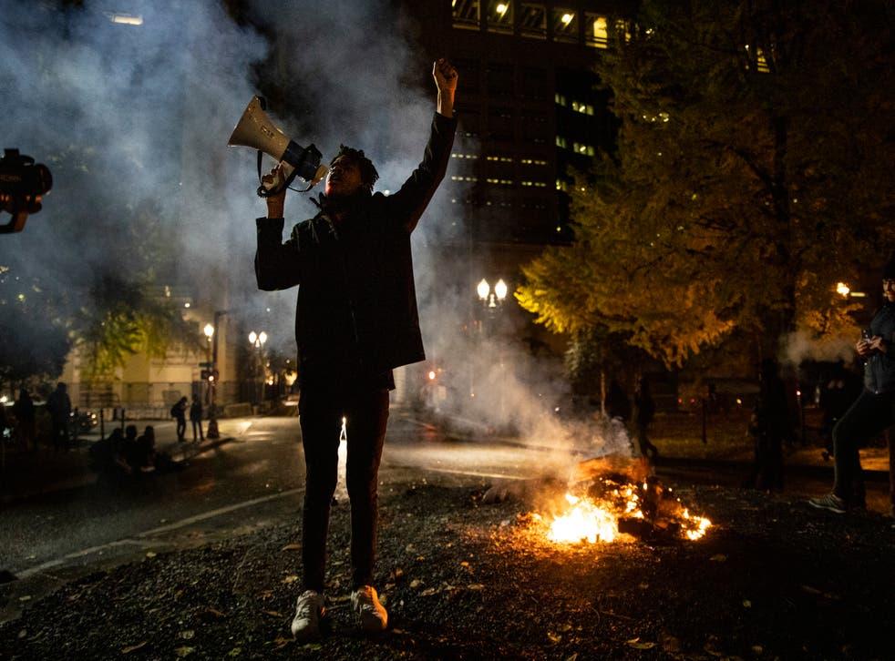 APTOPIX Portland Protests