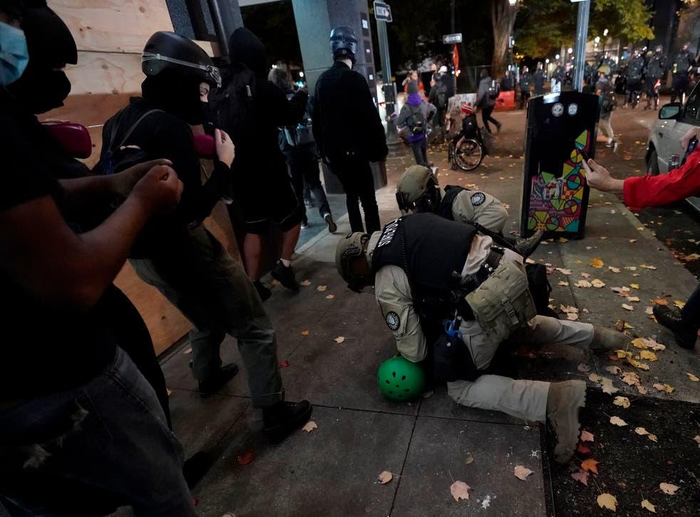 APTOPIX Election 2020 Protests Oregon