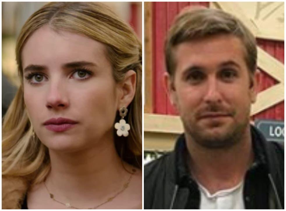 <p>Is that Ryan Gosling? Background actor Chad Zigmund caused a stir following 'Holidate's Netflix premiere&nbsp;</p>