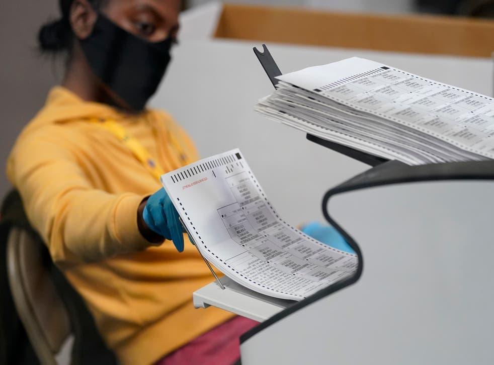APTOPIX Election 2020 Nevada Vote Counting
