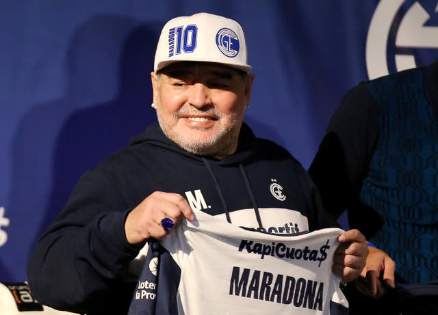 Diego Maradona has been suffering from 'confusion' caused by abstinence while in hospital