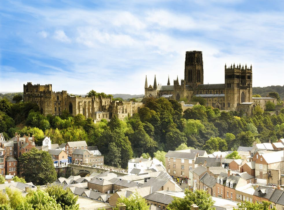 <p>The dramatic skyline of Durham City</p>