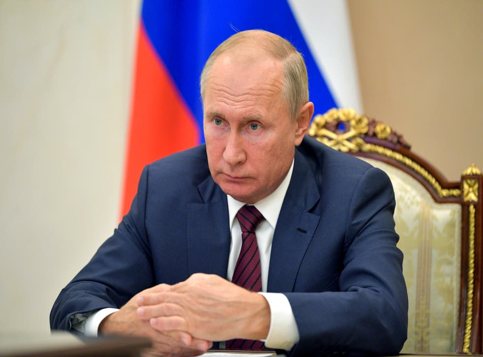 <p>El presidente ruso Vladimir Putin</p>