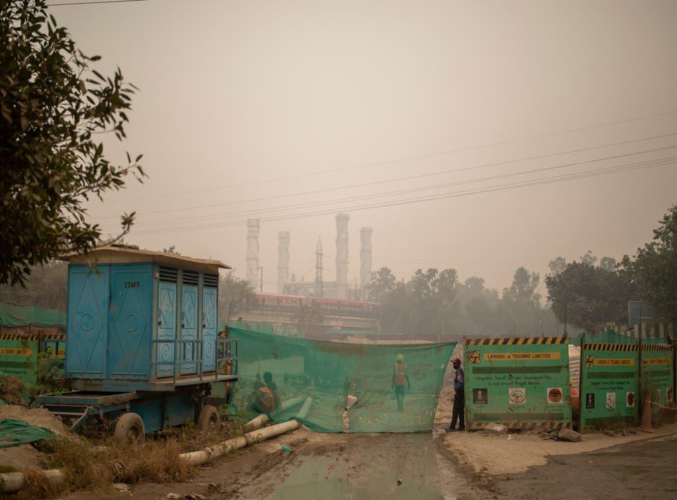 Virus Outbreak India Air Pollution