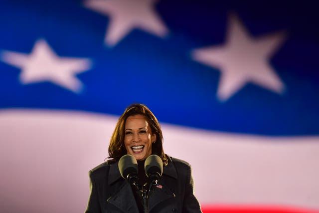 Kamala Harris en Pensilvania en vísperas del día de las elecciones