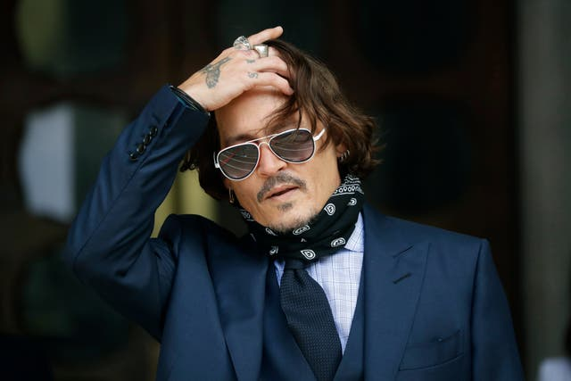 <p>Johnny Depp lost his libel case against The Sun newspaper</p>