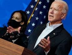 """""""No somos enemigos"""": Biden pide unidad en discurso en Delaware"""