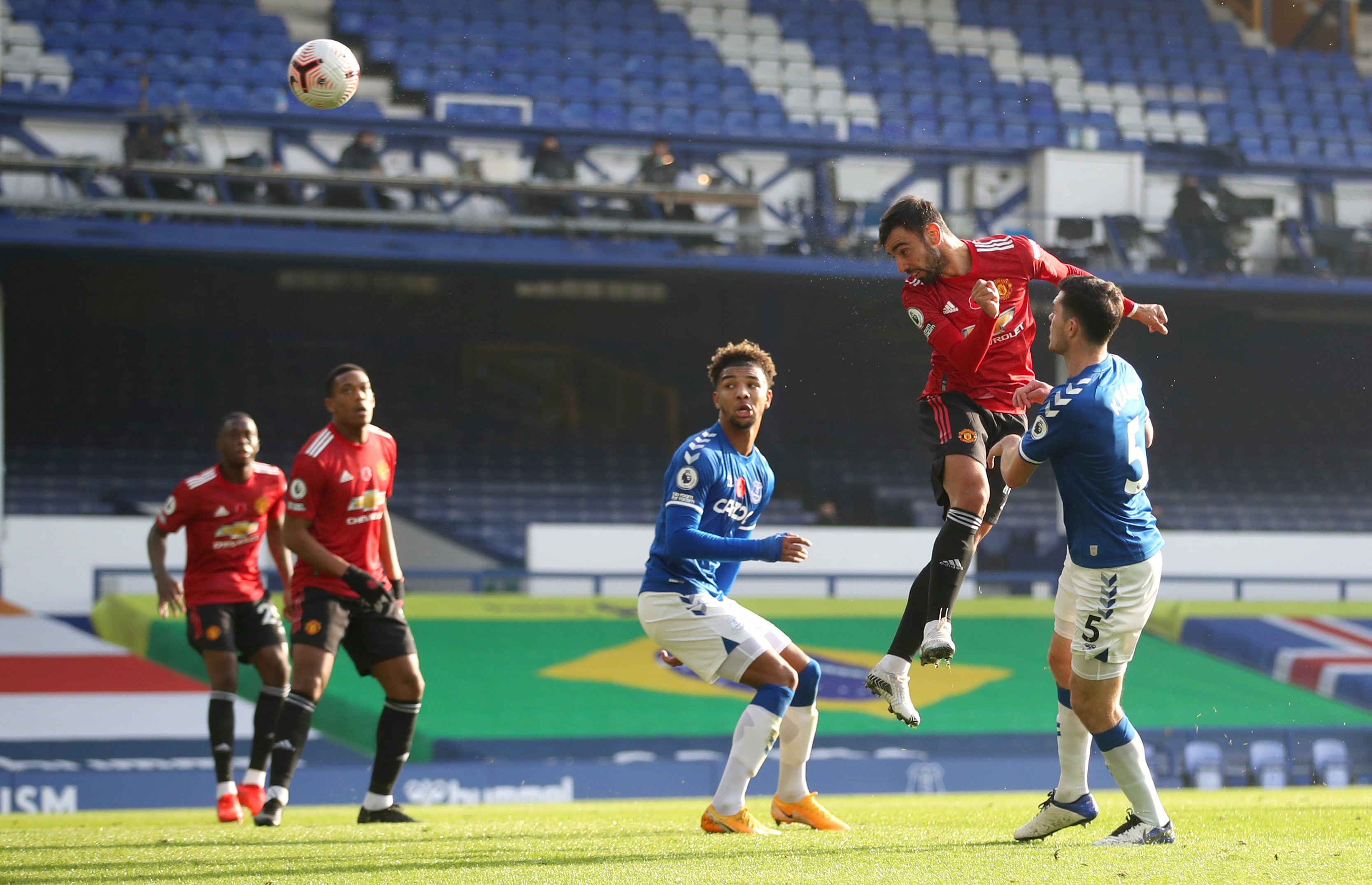 Everton Vs Manchester United Player Ratings Bruno