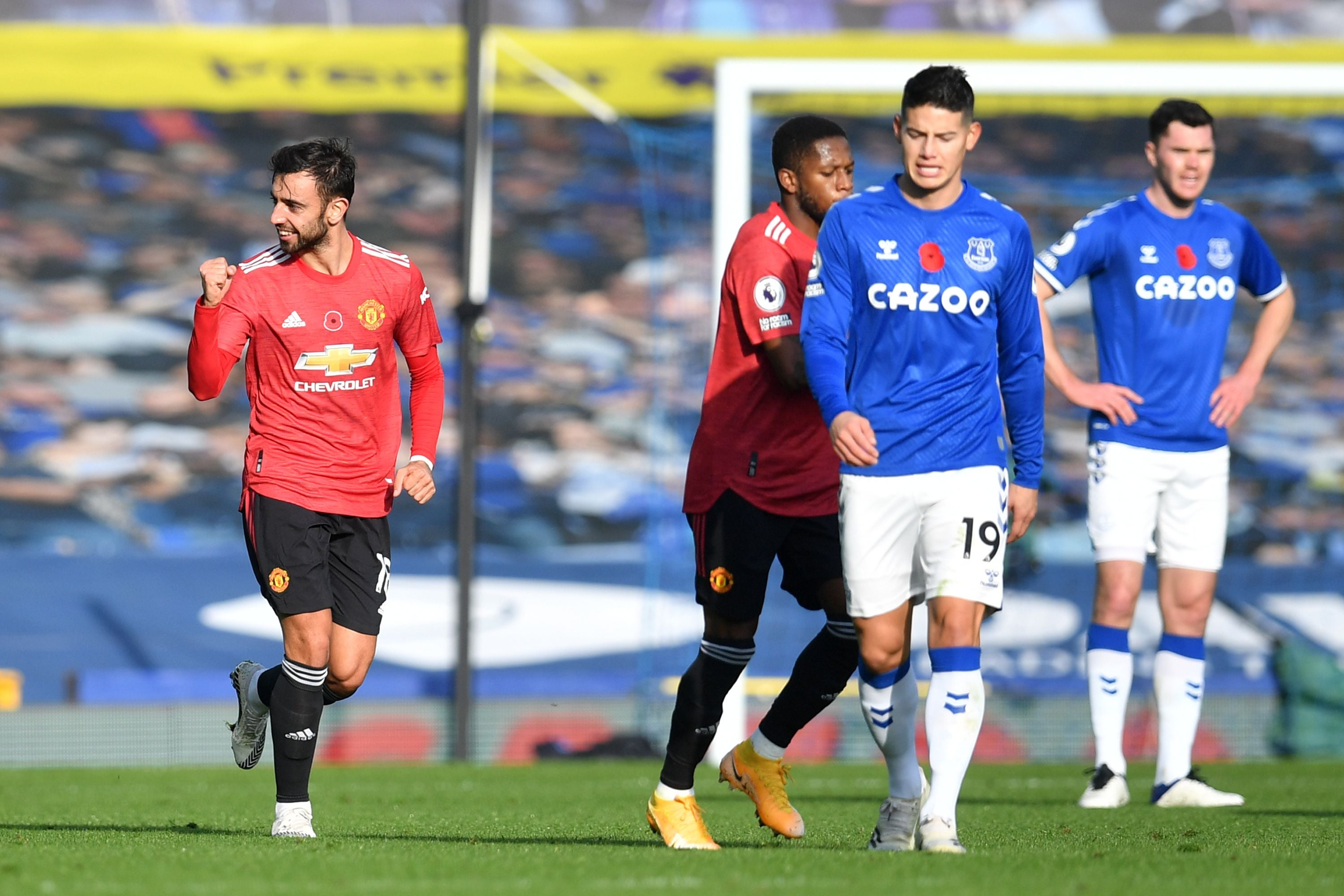 Everton Vs Manchester United Result Final Score And Report The Independent