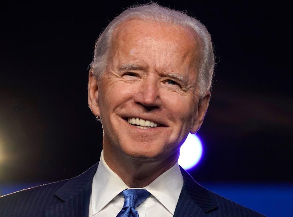 <p>Biden alcanzó este sábado los 270 votos electorales para asegurar su llegada a la Casa Blanca</p>