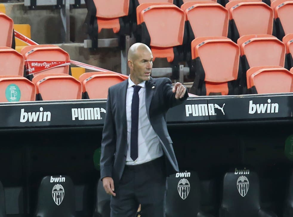 Zidane was at a loss to explain Madrid's defeat