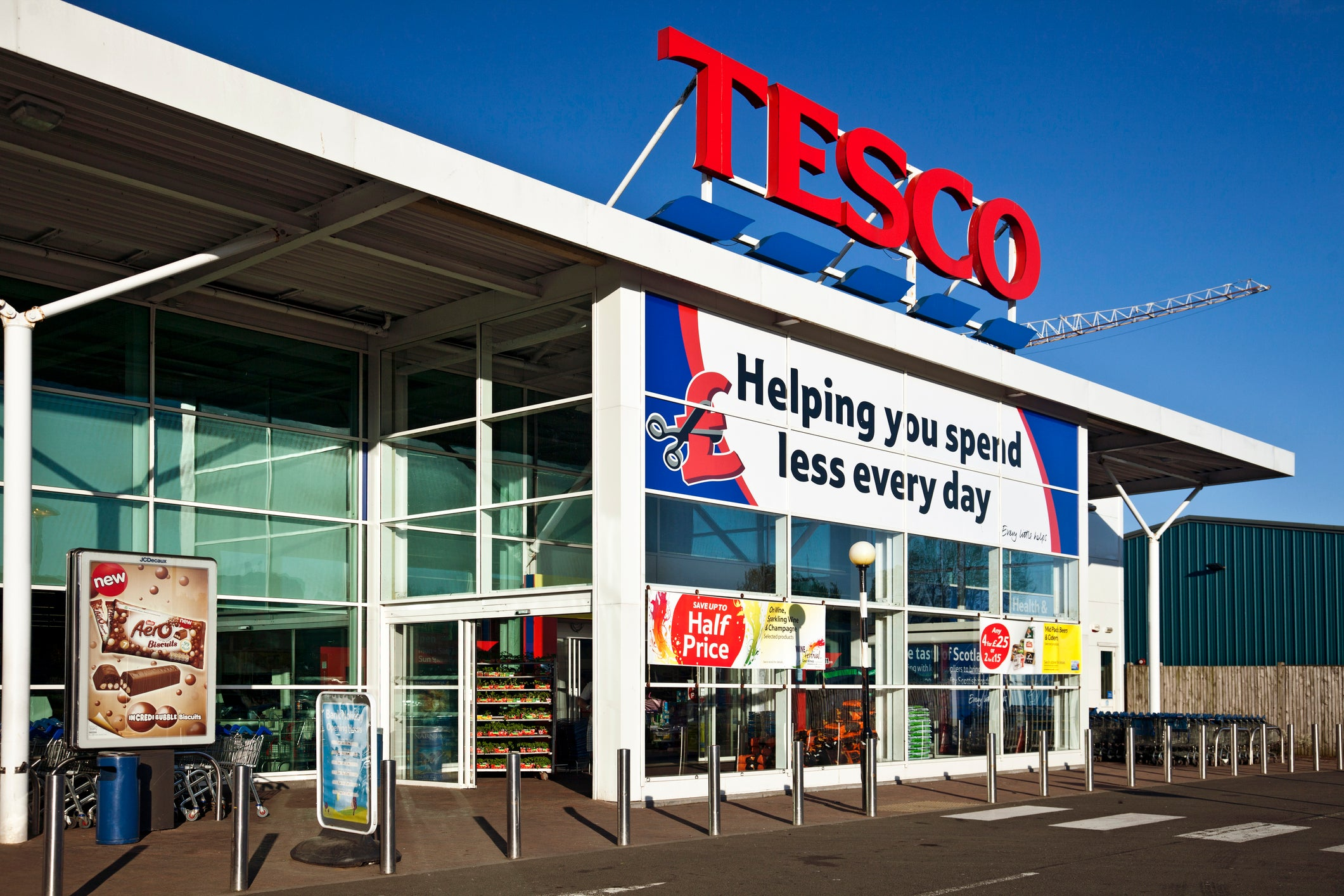 Image of article 'Tesco to hand back £585m business rates relief'