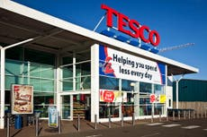 Outrage as Tesco blocks off 'non-essential' goods during lockdown