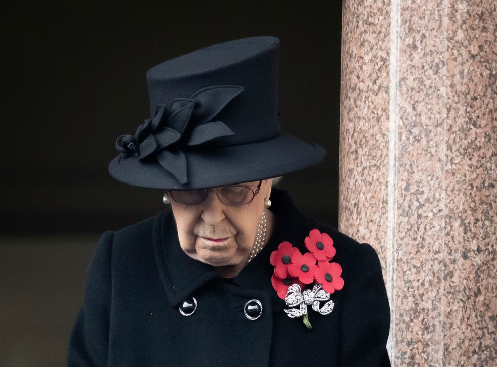 Virus Outbreak Britain Remembrance