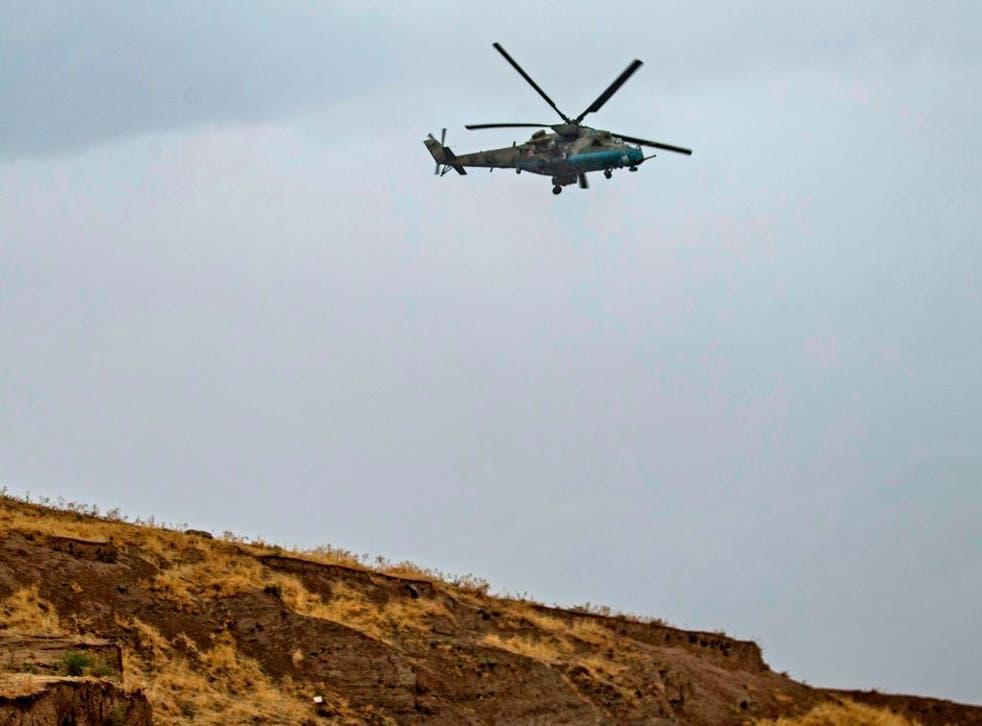 Las fuerzas armenias y azerbaiyanas han estado combatiendo durante seis semanas en la región de Nagorno-Karabaj.