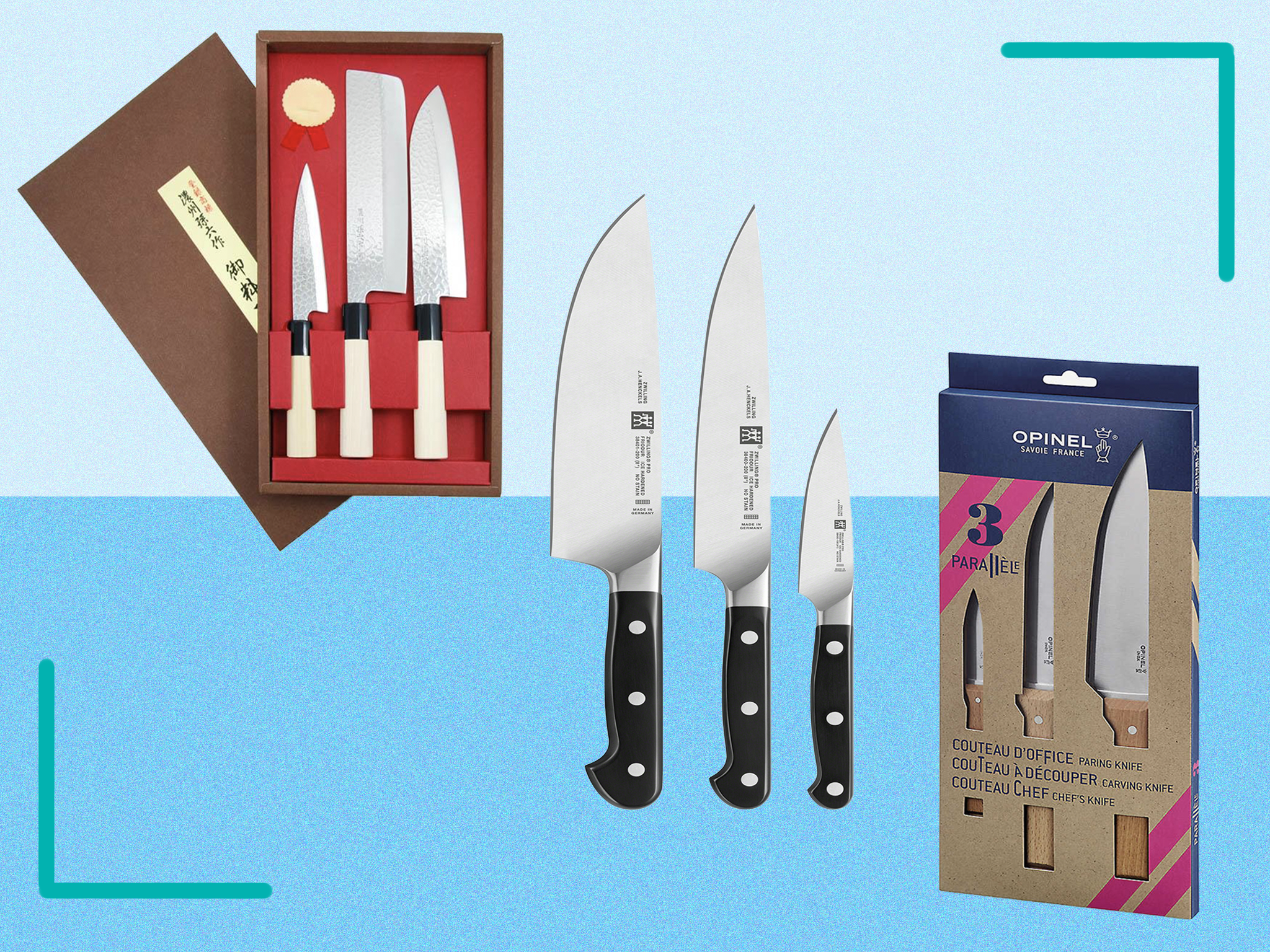 Best Kitchen Knife Sets For Every Budget Reviewed The Independent