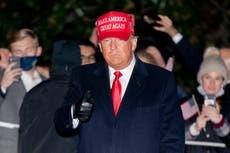 Trump se desentiende de la lucha contra el coronavirus