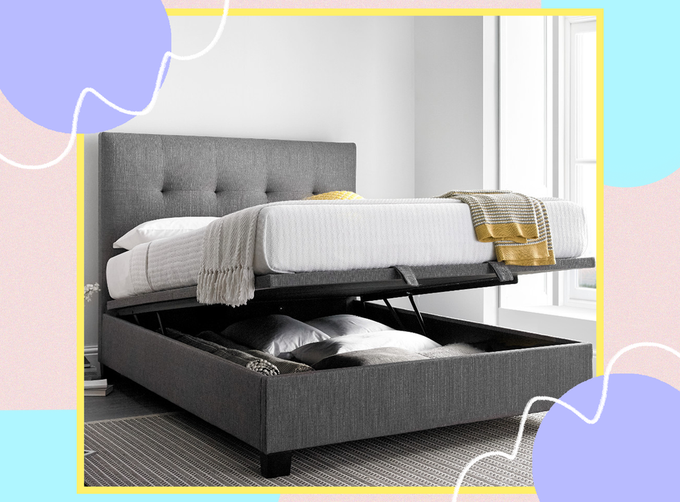 Best Storage Beds 2021 Space Saving Designs In Double Single And More Sizes The Independent