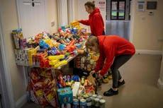 Food charities need volunteers for Christmas push