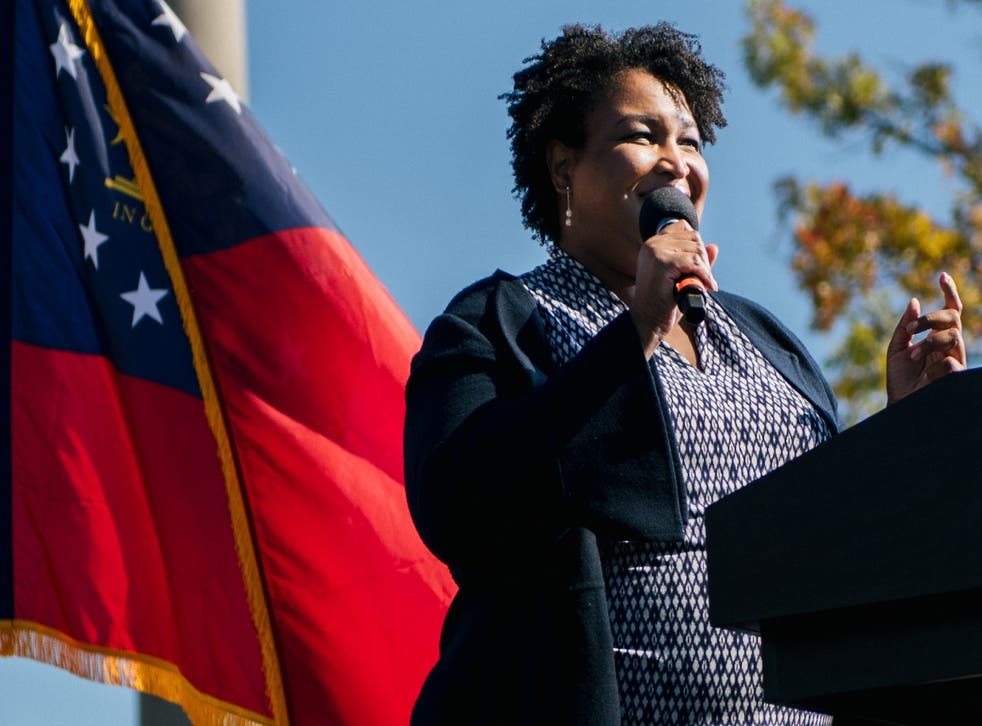 <p>Stacey Abrams, making history by the power of organisation</p>