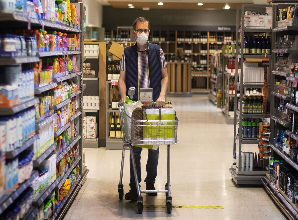 <p>Shoppers felt more confident heading to stores again, with 58 million more visits to supermarkets compared to May last year</p>