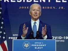 Biden speaks to world leaders - live