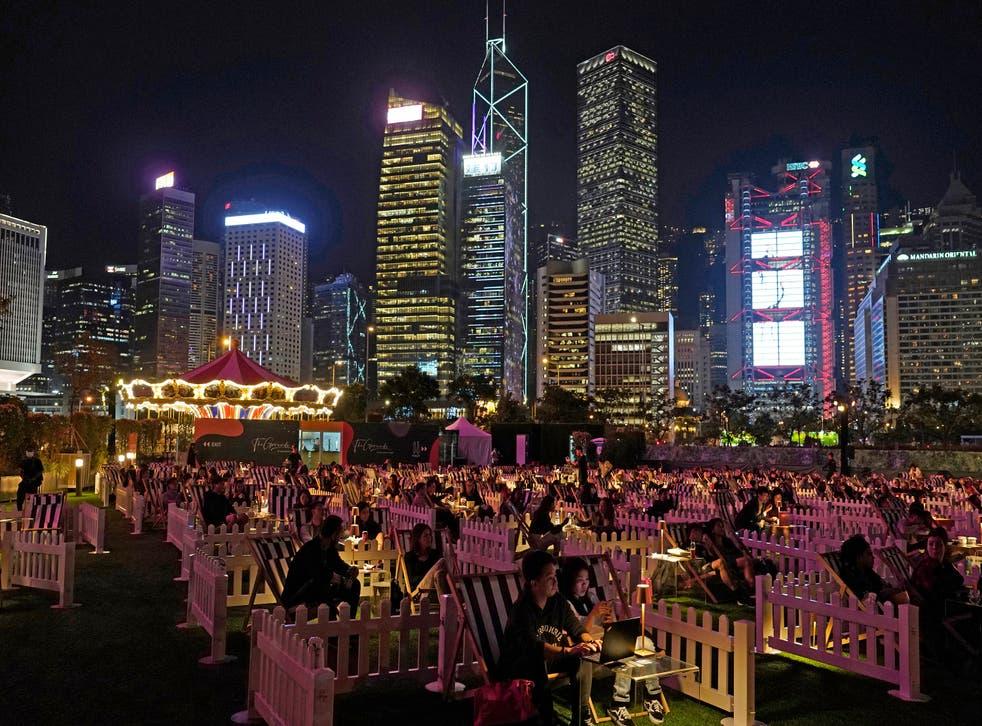 CORONAVIRUS-HONG KONG-PARQUE DE ATRACCIONES