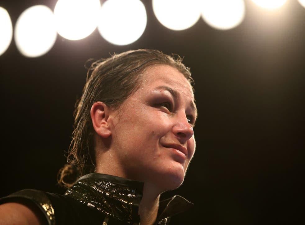 Katie Taylor will fight Miriam Gutierrez
