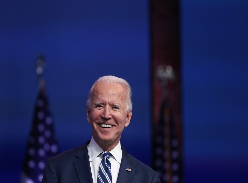 <p>President-elect Biden has said he'll only give us a trade deal if the Good Friday Agreement remains intact and there is no hard border</p>