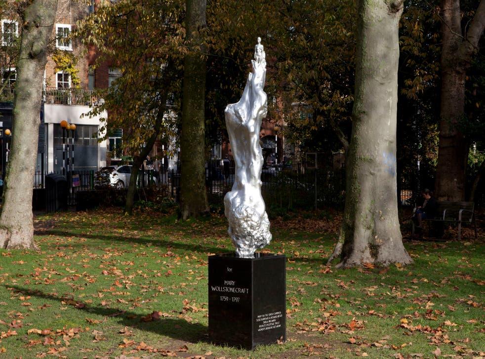 Britain Feminist Statue