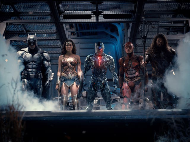 The Justice League assembles in the 2017 superhero adaptation