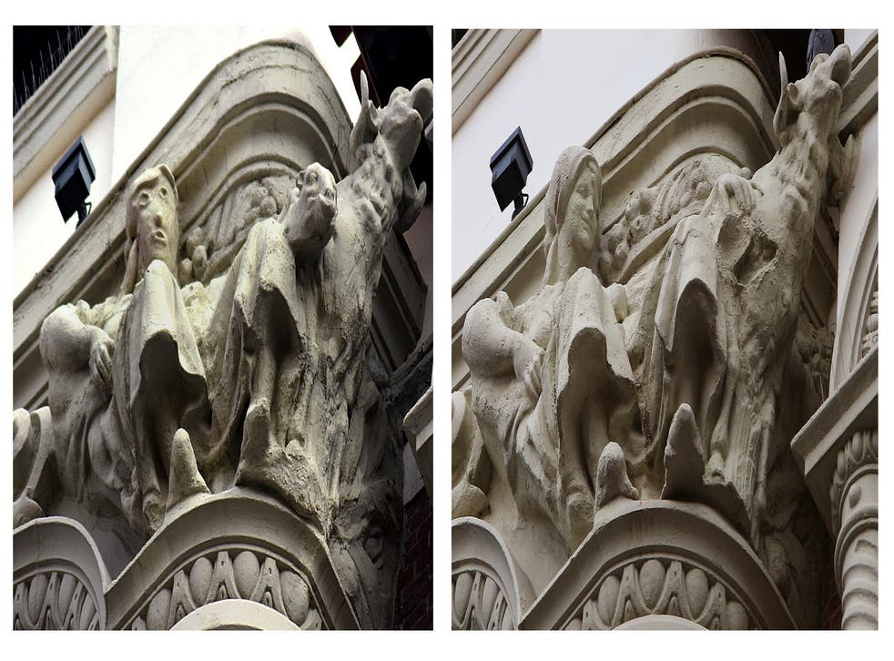 Spain Botched Restoration