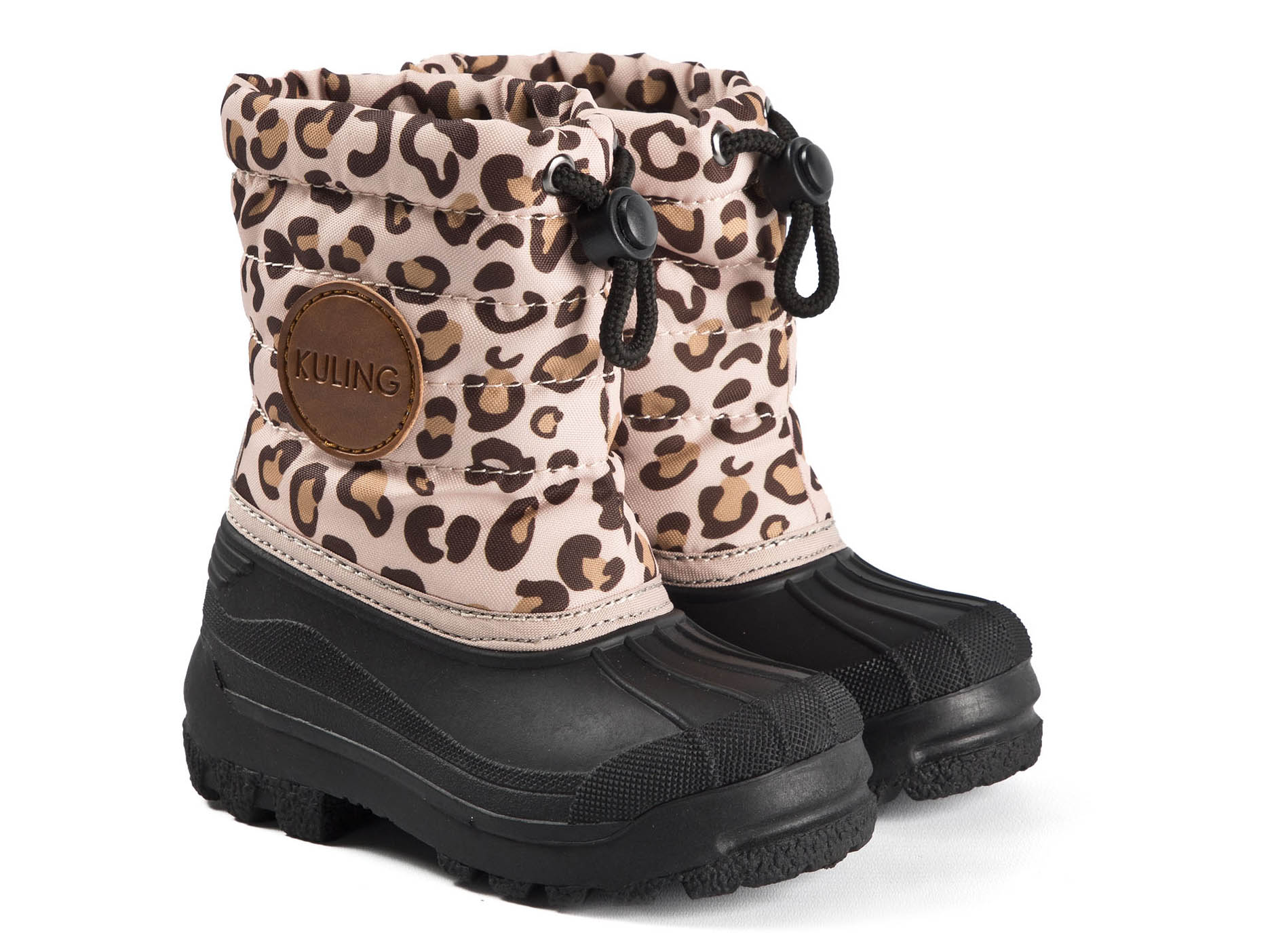 UK Winter Kids Girls Boys Snow Fur Lined Boots Toddler Warm Shoes Comfortable Sz