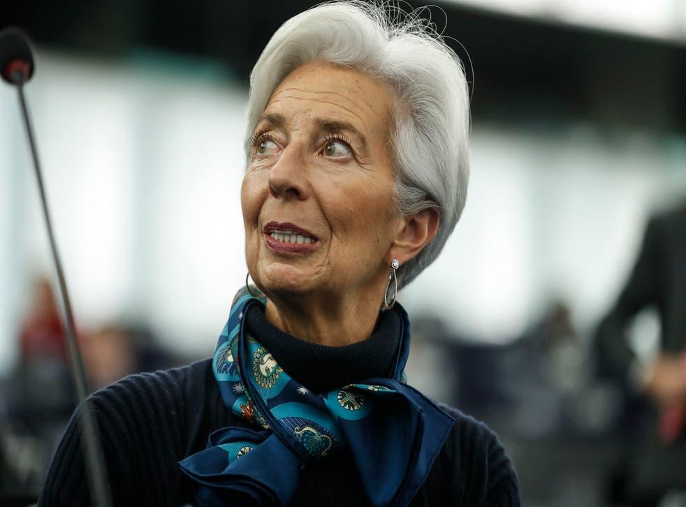 Virus Outbreak Christine Lagarde