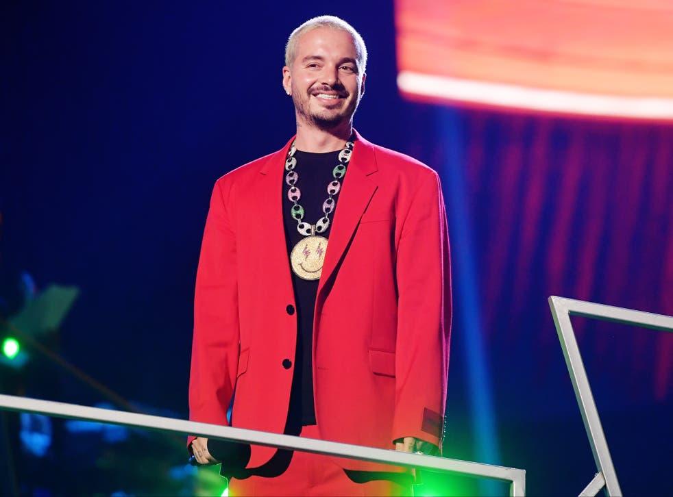 J Balvin durante los Premios Spotify 2020 el 5 de marzo de 2020 en la Ciudad de México, México
