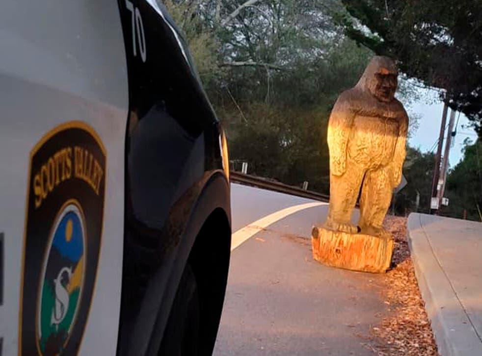 Bigfoot Statue Found